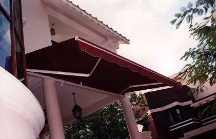 Rekha Decor Lateral Arm Awnings